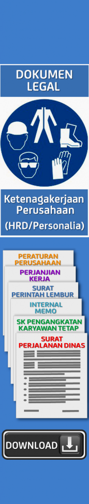 Dokumen Legal Ketenagakerjaan Perusahaan